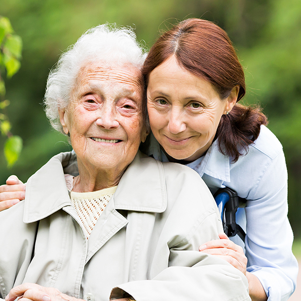 vna help at home with caregiver