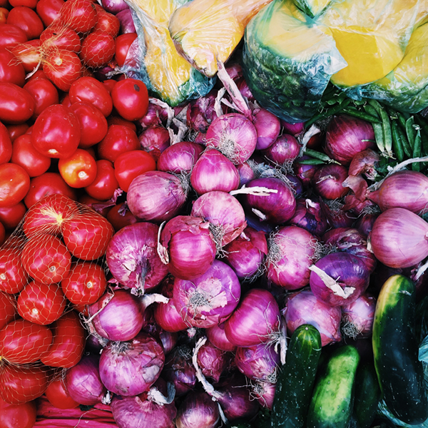 vegetables at food day omaha