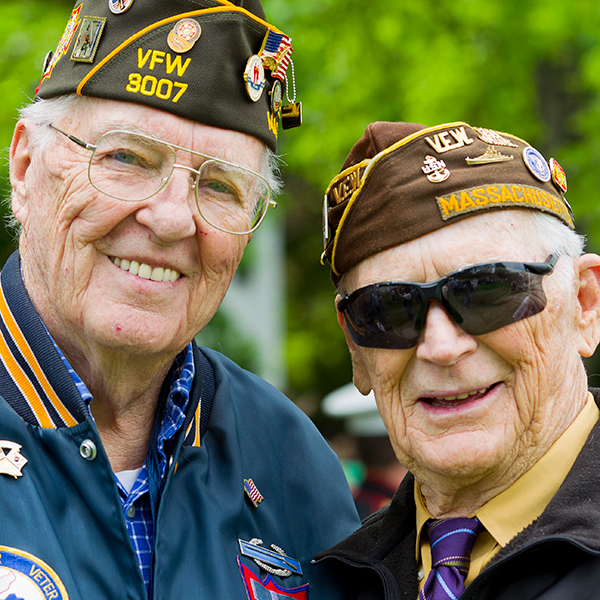 veterans portrait