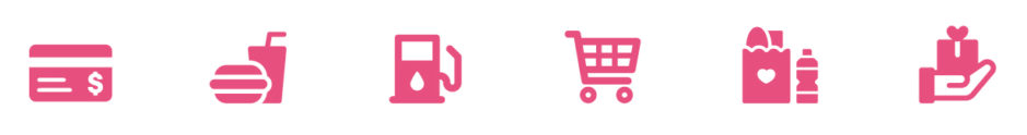 Plastic 4 Pink icons