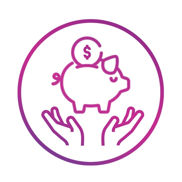 Financial benefits Icon