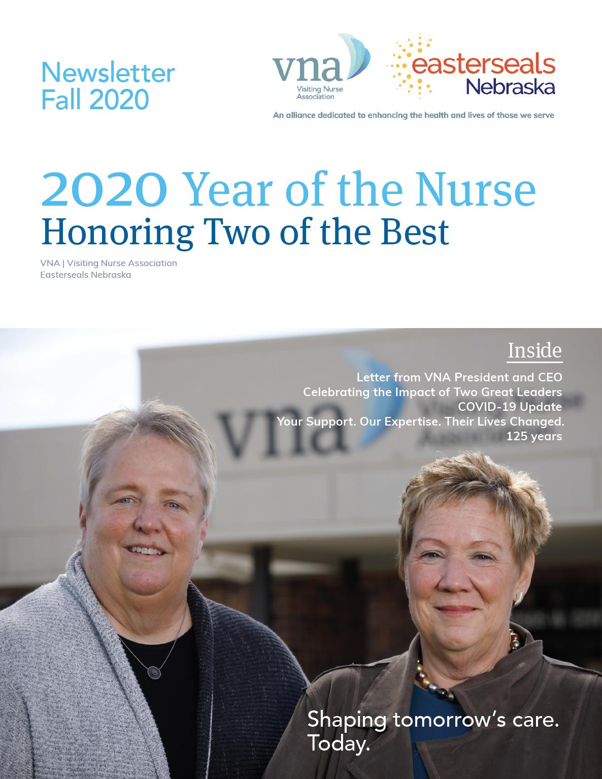 VNA Fall 2020 Newsletter Cover