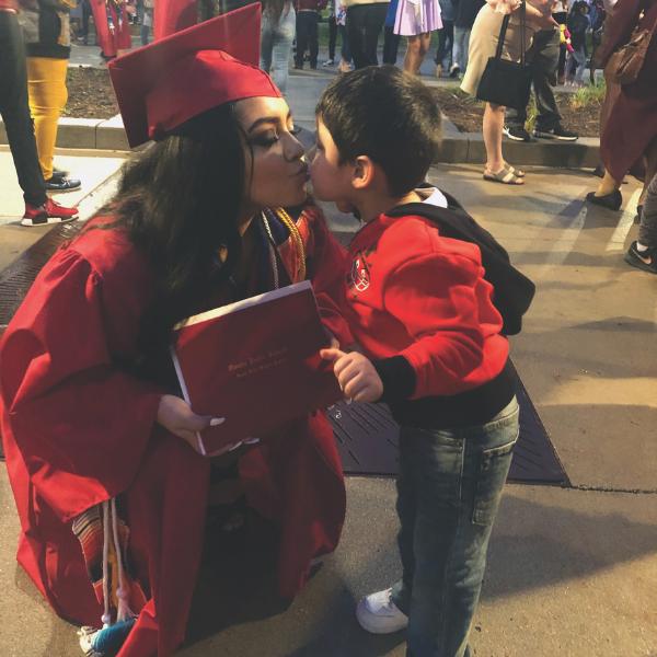 shyla graduation parenting support vna
